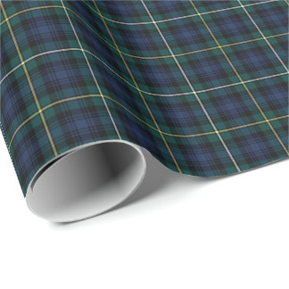 Clan Campbell of Argyll Tartan Gift Wrap