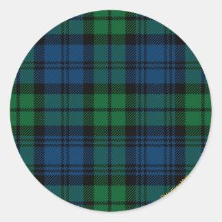 Clan Campbell Classic Round Sticker