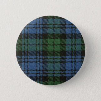 Clan Campbell Tartan Button