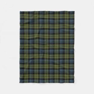Clan Campbell Tartan Fleece Blanket