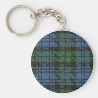 Clan Campbell Tartan Key Chain