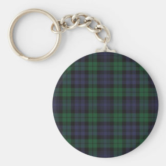 Clan Campbell Tartan Keychain