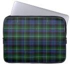 Clan Campbell Tartan Plaid Laptop Cover