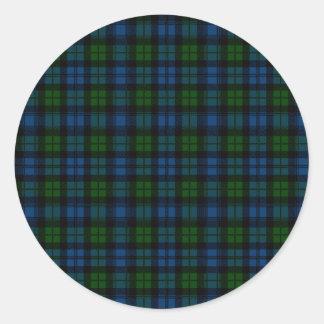 Clan Campbell Tartan Sticker