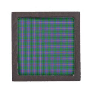 Clan Carmichael Tartan Premium Trinket Box