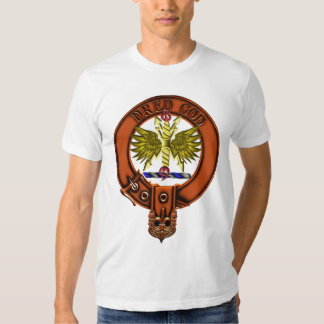 Clan Carnegie Family Crest and Targe Tee Shirt