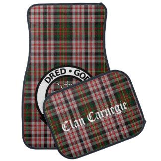 Clan Carnegie Tartan Car Mats