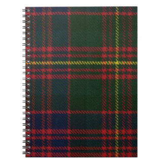 Clan Carnegie Tartan Note Books