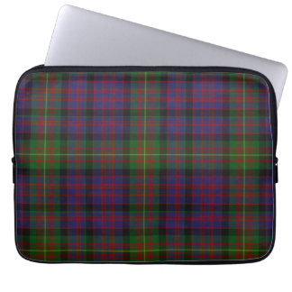 Clan Carnegie Tartan Plaid Laptop Cover Laptop Computer Sleeve