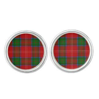 Clan Chisholm Tartan Cufflinks