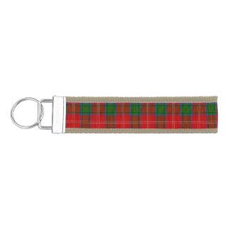 Clan Chisholm Tartan Wrist Keychain