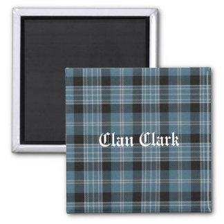 Clan Clark Tartan Fridge Magnet