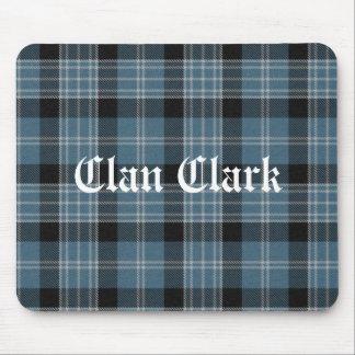 Clan Clark Tartan Mouse Pad