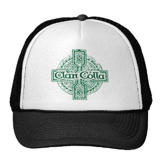 Clan Colla con la cruz céltica cuadrada Gorros