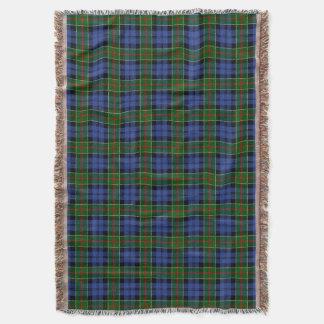 Clan Colquhoun Tartan Throw Blanket