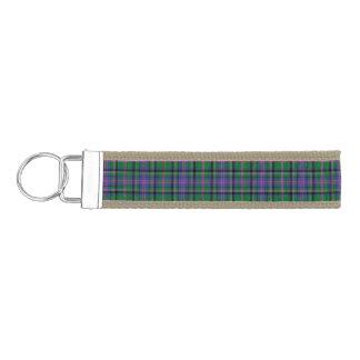 Clan Cooper Tartan Wrist Keychain