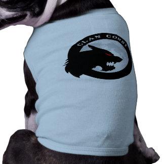 Clan Corby Doggie Shirt, male dog   Heartblaze Tee