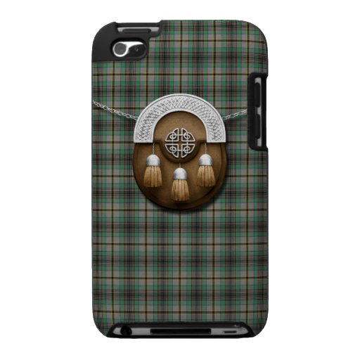 Clan Craig Tartan And Sporran Case For The iPod Touch