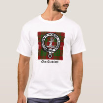 Clan Crawford Crest Tartan T-Shirt