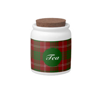 Clan Crawford Tartan Candy Jar
