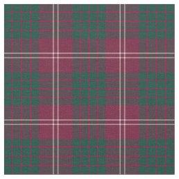 Clan Crawford Tartan Fabric