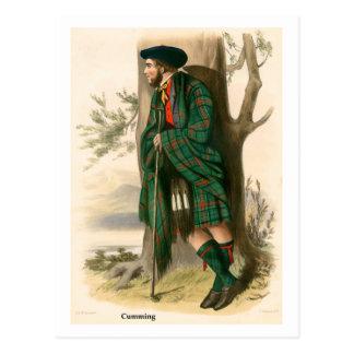 Clan Cumming Postcard