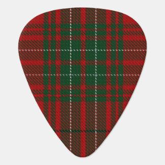 Clan Cumming Red Green Sounds of Scotland Tartan Guitar Pick