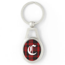 Clan Cunningham Plaid Monogram Key Chain