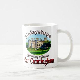 Clan Cunningham que soña con Finlaystone casero Tazas De Café