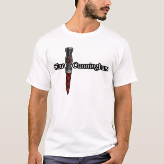 Clan Cunningham Scottish Sgian Dubh T-Shirt