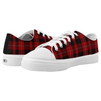 Clan Cunningham Tartan Plaid Tennis Shoes