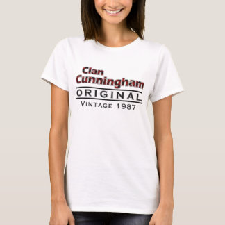 Clan Cunningham Vintage Customize Your Birthyear T-Shirt