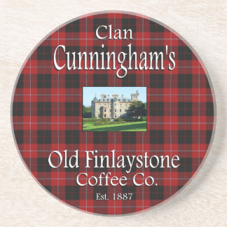 Clan Cunningham's Old Finlaystone Coffee Co. Drink Coaster