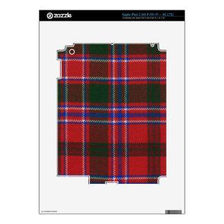 Clan Dalzell Tartan iPad 3 Decals
