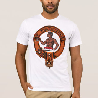 Clan Darroch Family Crest and Targe T-Shirt