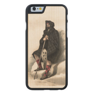 Clan Davidson Carved Maple iPhone 6 Case