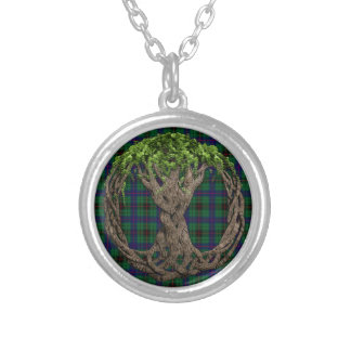 Clan Davidson Tartan And Celtic Tree Of Life Jewelry