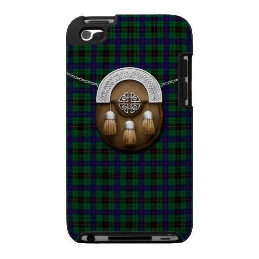 Clan Davidson Tartan And Sporran iPod Touch Case