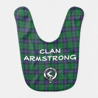 Clan de Armstrong Baberos De Bebé