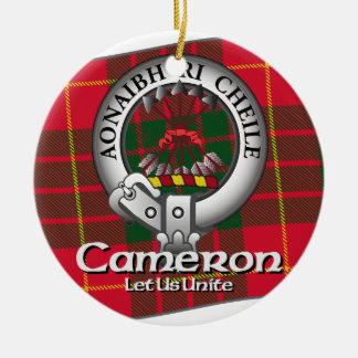 Clan de Cameron Ornamentos De Navidad
