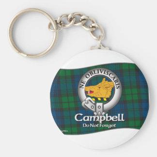 Clan de Campbell Llaveros Personalizados