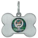 Clan de Graham Placas Mascota
