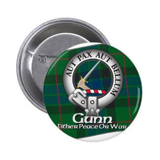 Clan de Gunn Pin Redondo De 2 Pulgadas