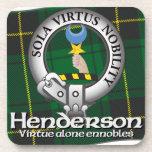 Clan de Henderson Posavasos De Bebidas