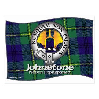 Clan de Johnston Johnstone Tarjeta Postal