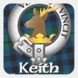 Clan de Keith Colcomanias Cuadradas