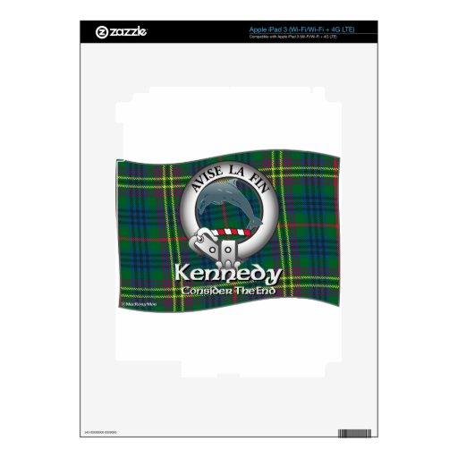 Clan de Kennedy iPad 3 Skins
