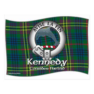 Clan de Kennedy Tarjeta Postal