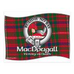 Clan de MacDougall Postal