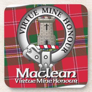 Clan de Maclean Posavasos De Bebidas